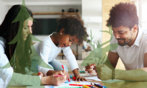 At home time is the best time for fun family activities!